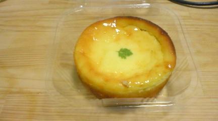 リンゴのチーズタルト
